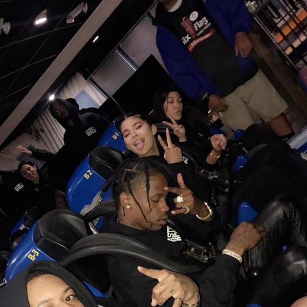 e7a7275777fa Travis Scott turned Six Flags into Astroworld for album release party