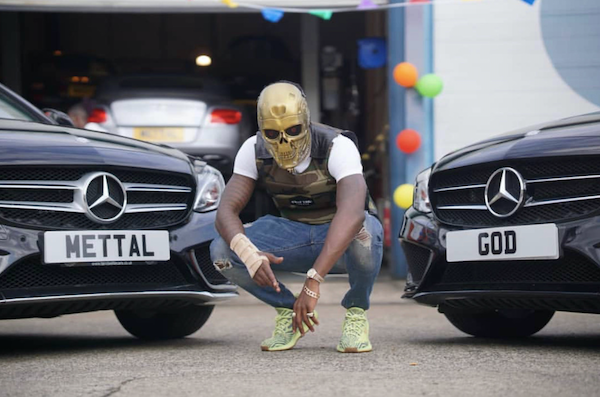 """UK rapper Mettal God's visual for his track """"2 Phones"""" is an"""