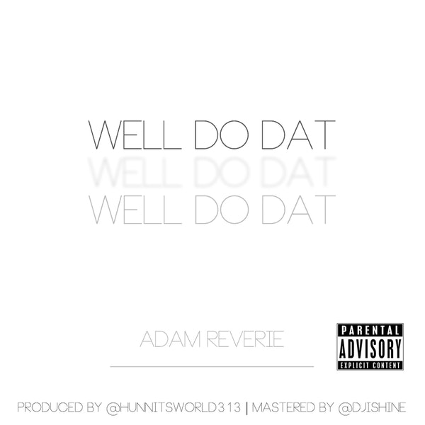Adam Reverie Single Art