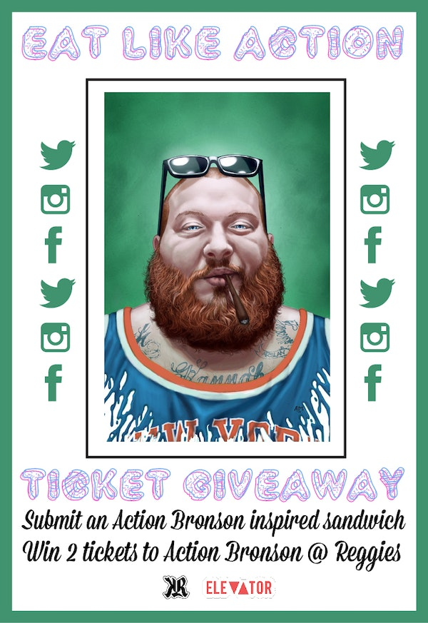 Action Bronson Ticket Giveaway