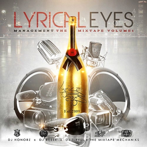 Lyrical Eyes Management Mixtape Cover