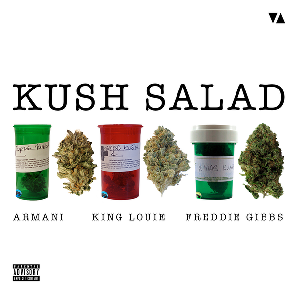 Armani Ft. King Louie & Freddie Gibbs Kush-Salad-Cover
