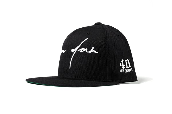 Fall13_LD_Headwear_Black Script Hat-Side2