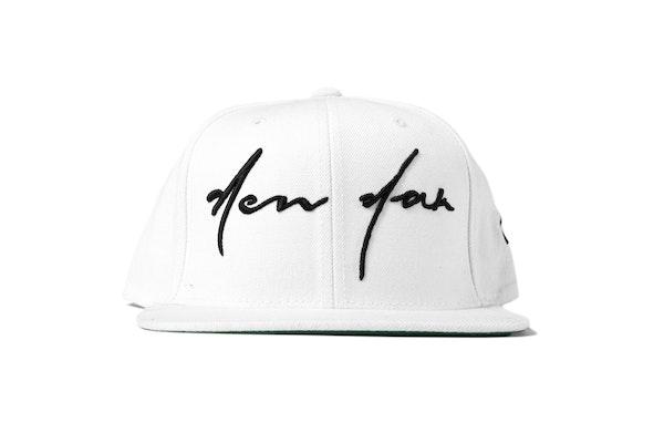 Fall13_LD_Headwear_White Script Tee