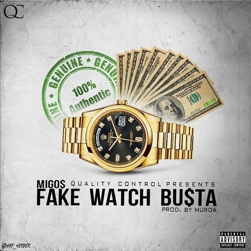 Migos Fake Watch Busta