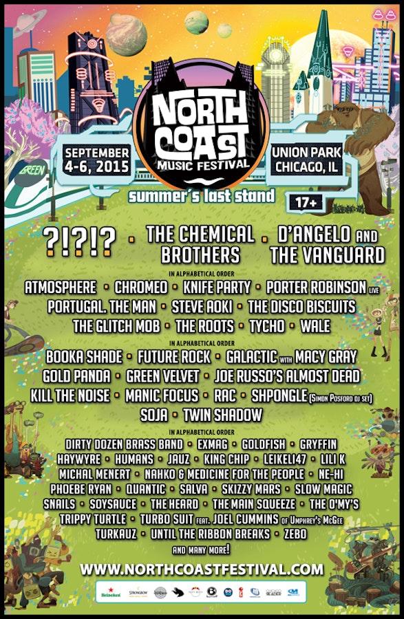 northcoast-2015-lineup