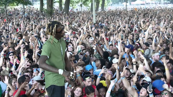 Young Thug At Lollapalooza (Video)